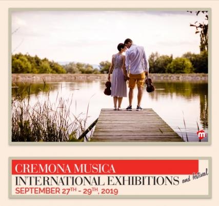 Vi aspettiamo a Cremona Mondomusica 2019- stand N.127