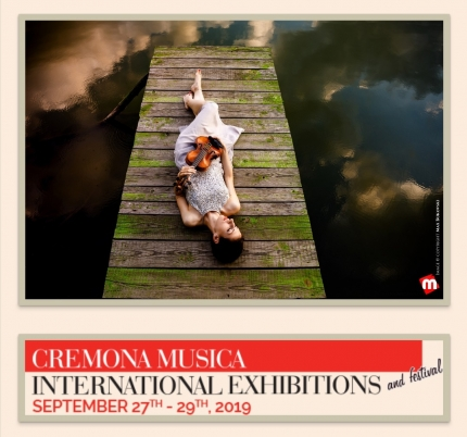 This year you can meet us at Cremona Mondomusica 2019 - booth N. 127